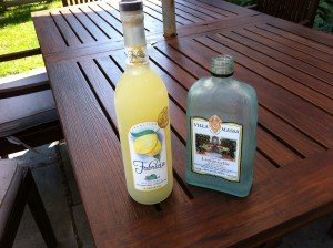 Limoncello. Out with the old, in with the new.