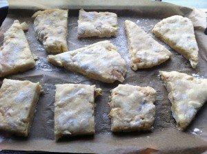 scones pre baking