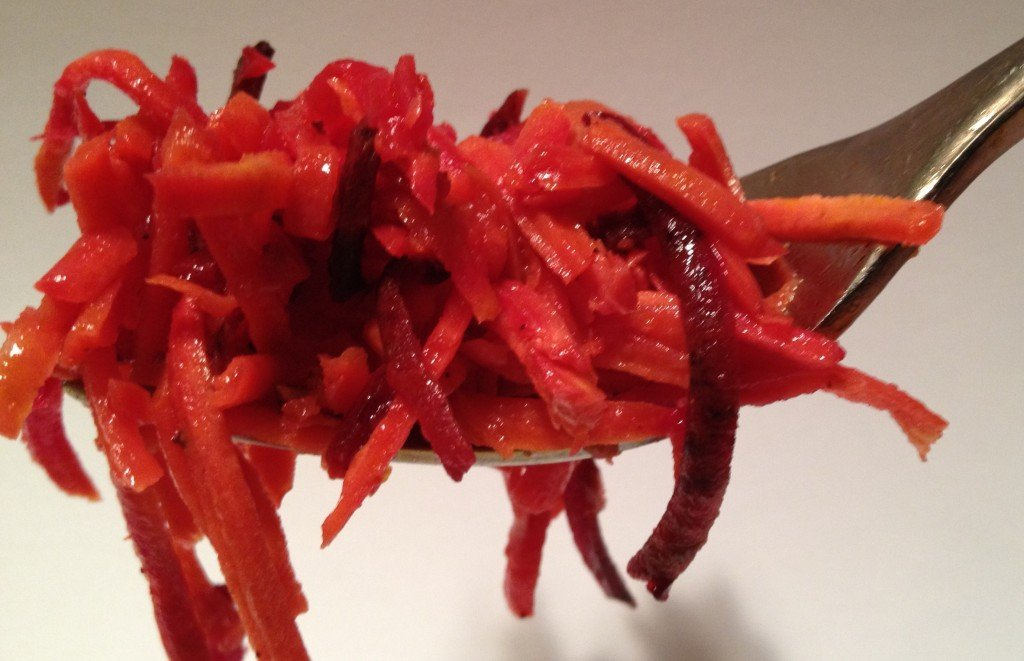Beets add color, flavor, and a bit of a kick!