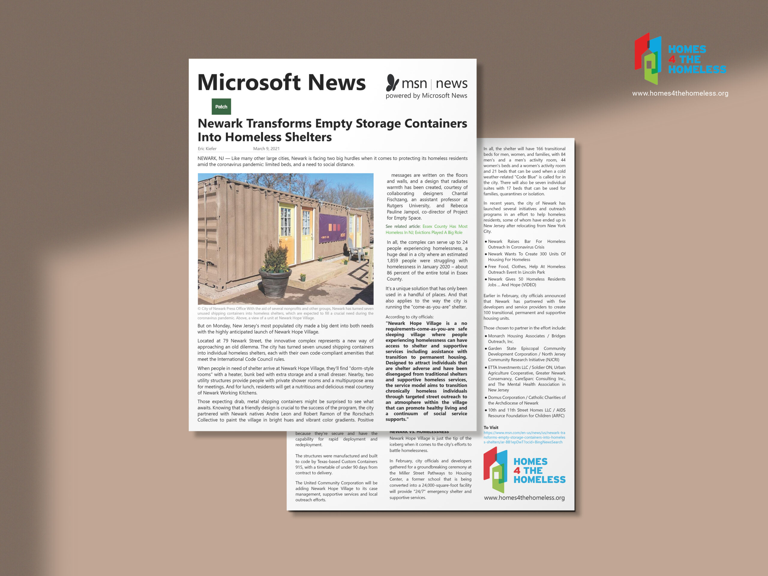 Microsoft News article March 9, 2021 via Patch