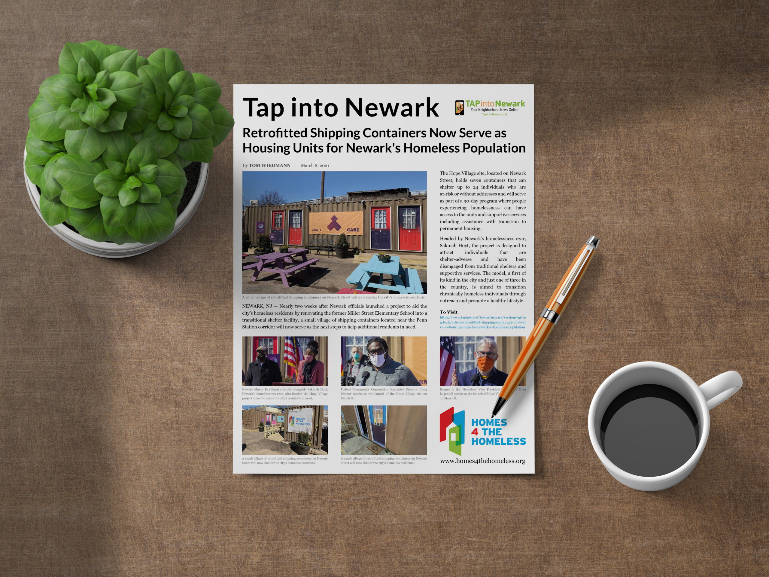 Tap into Newark article by Tom Wiedmann 8 March 2021