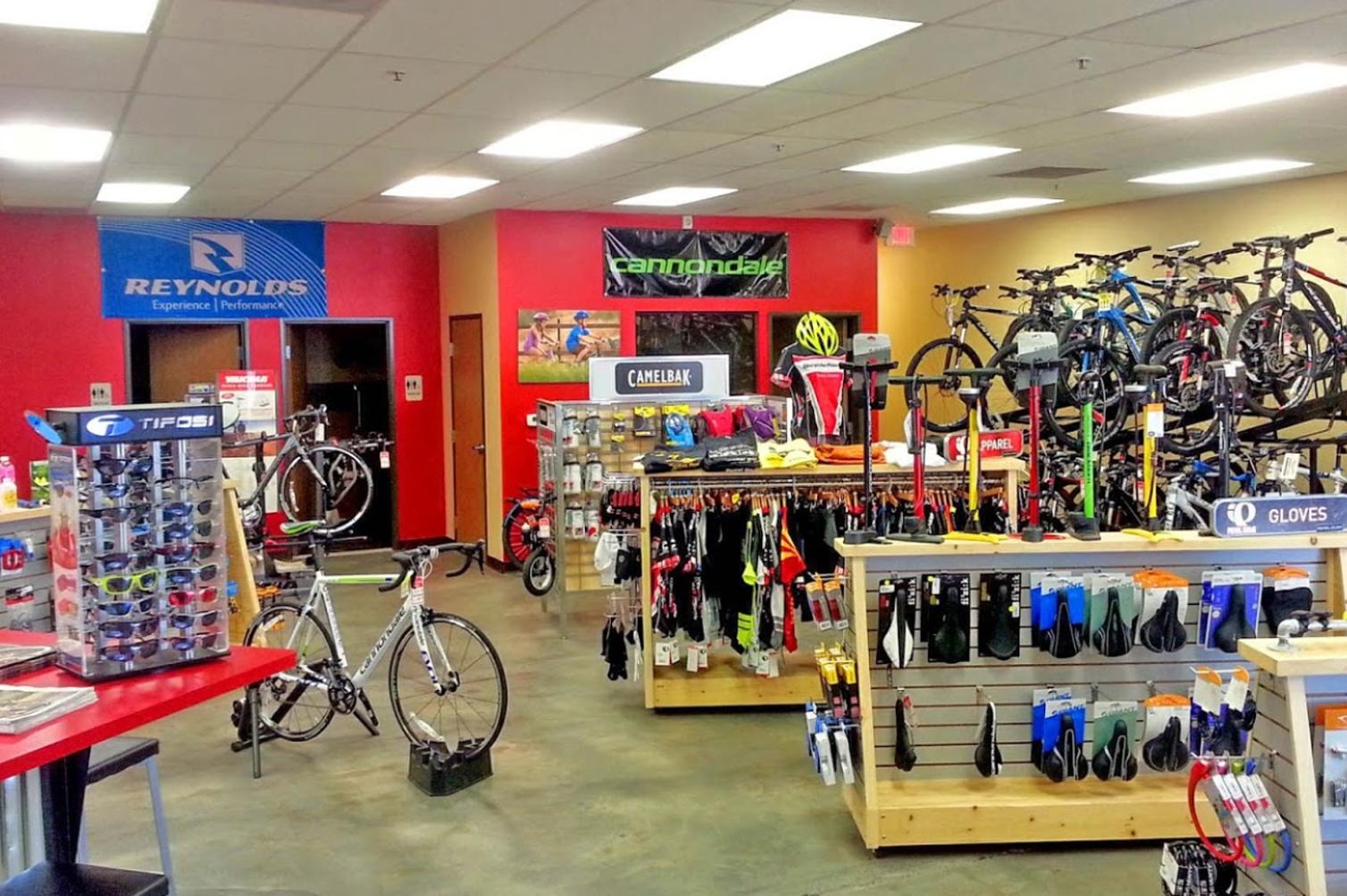 Bike Ranch Interior Retail