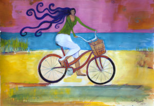 beach-cruiser-commissioned-painting-by-judith-shaw