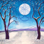 Bright-Wnter-Night-painting-by-judith-shaw