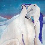 polar-bear-spirit-animal-painting-by-judith-shaw