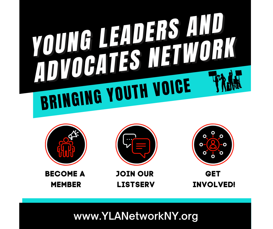 YLAN Bringing Youth Voice. Become a member, join our listserv, get involved.