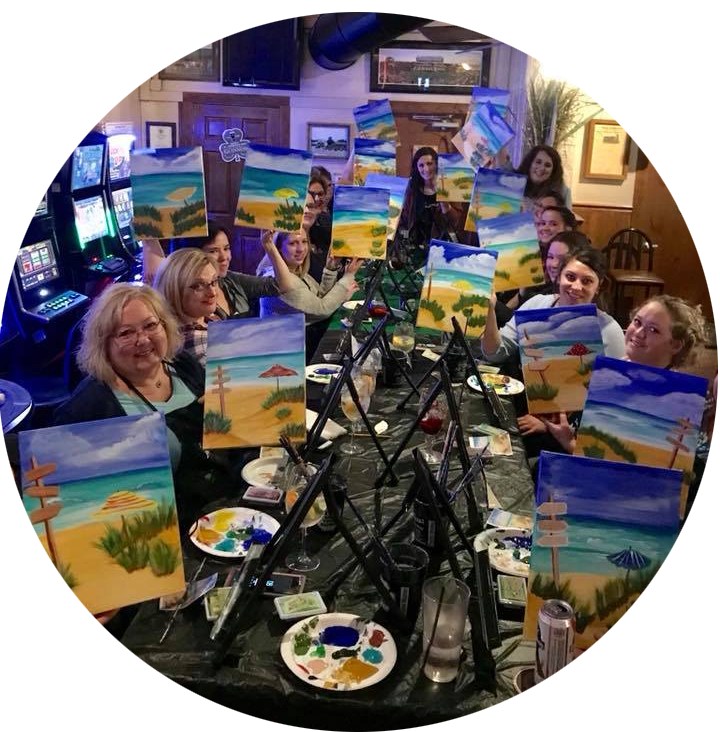 Sip and Paint Paint Parties