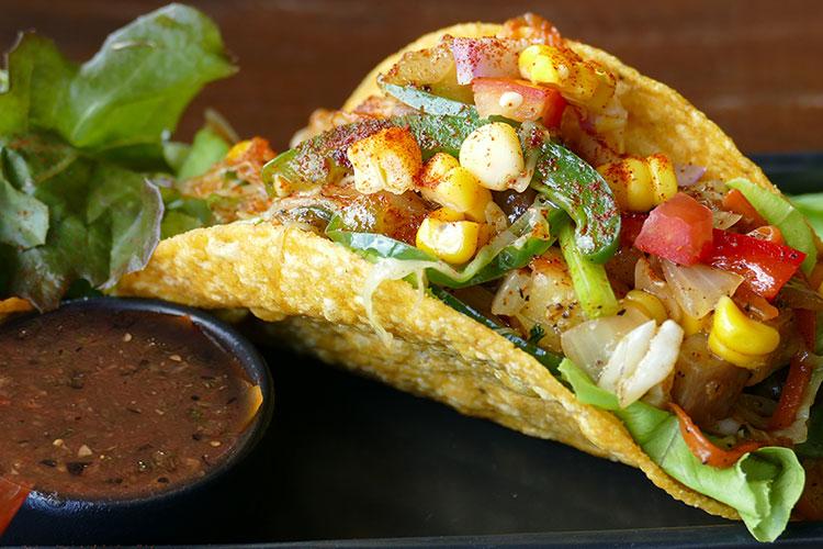 Taco and Salsa