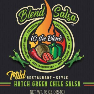 Blend Salsa Hatch Green Chile Salsa Mild
