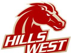 Hills West Colts Logo