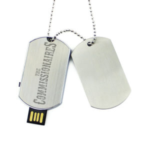 Dog Tag USB necklace