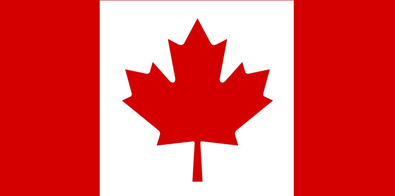 canada, flag, maple leaf