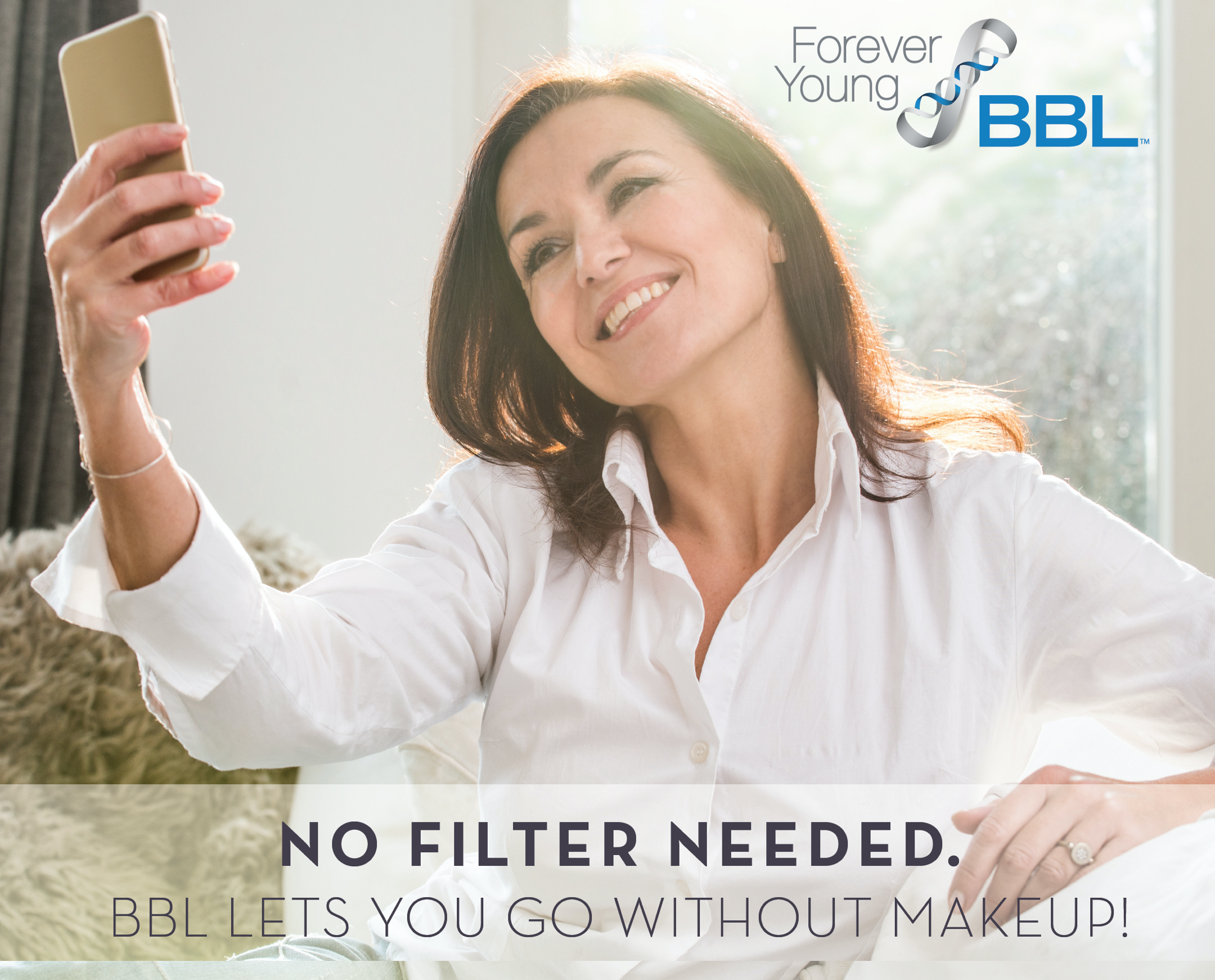 BBL Photo Facial - No filter needed