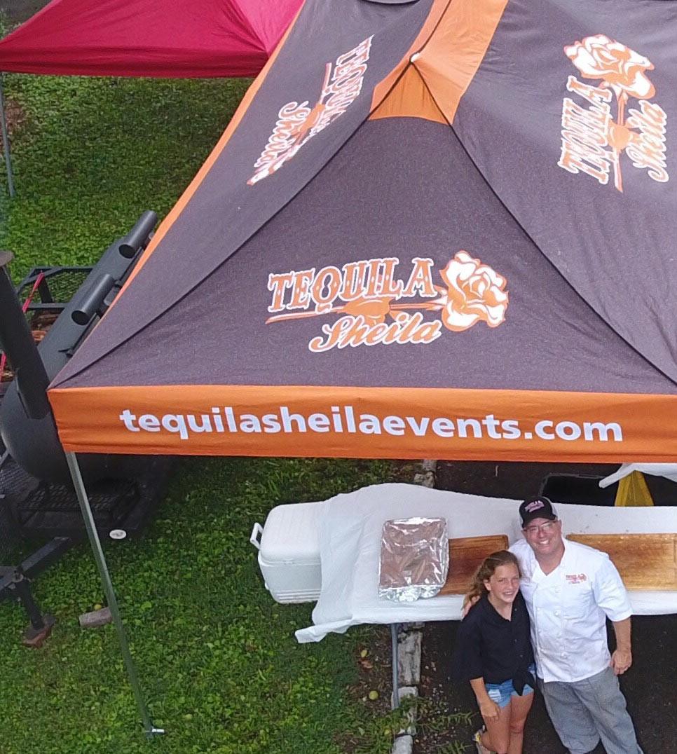 Liz & Bob Napier of Team Tequila Sheila