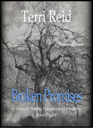 Book Cover: Broken Promises - A Mary O'Reilly Paranormal Mystery (Book 8)