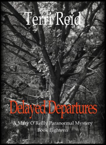 Book Cover: Delayed Departures - A Mary O'Reilly Paranormal Mystery (Book 18)