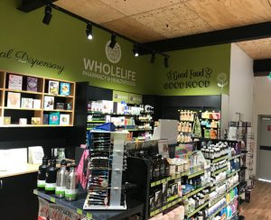 Store of vitamins and other health supplements