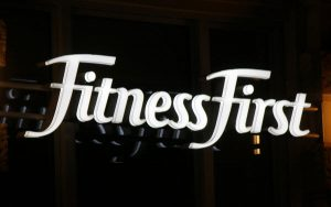 Fitness First Signage