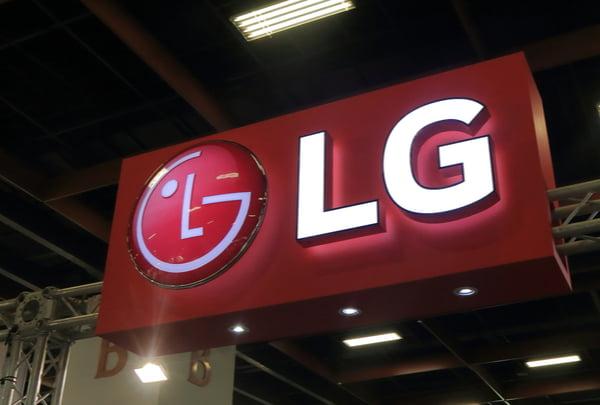 LG signage
