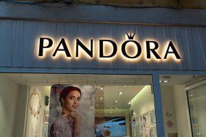 Pandora Store Signage
