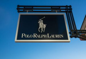 Pylon sign of Polo Ralph Lauren logo