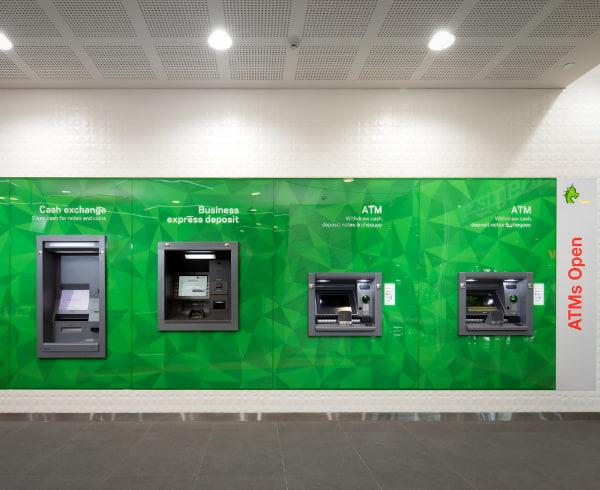 Saint George ATM machines