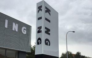 Pylon and Monolith Sign