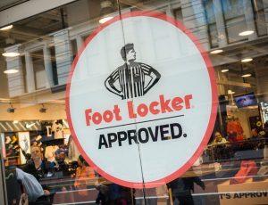 Foot Locker Vinyl sign