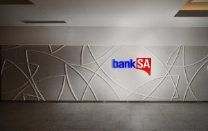Large Bank SA wall panel