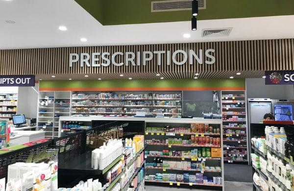 Prescriptions Signage