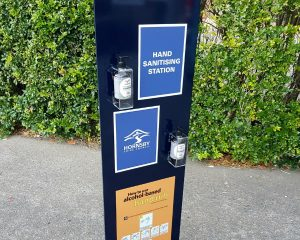 Hand Sanitising Station Stand