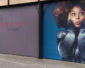 Large digital print of Esprit