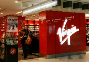 Virgin Store and Logo