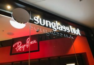 Sun Glass Store and Logo