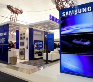 Samsung Internal Wall Signage