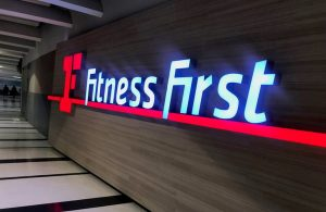 Fitness First Wall Panel