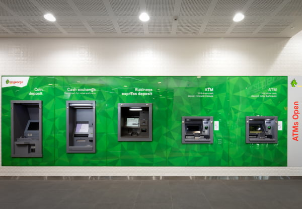 St. George ATM machines