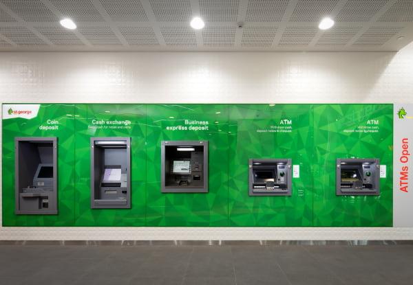 St. George ATM machines