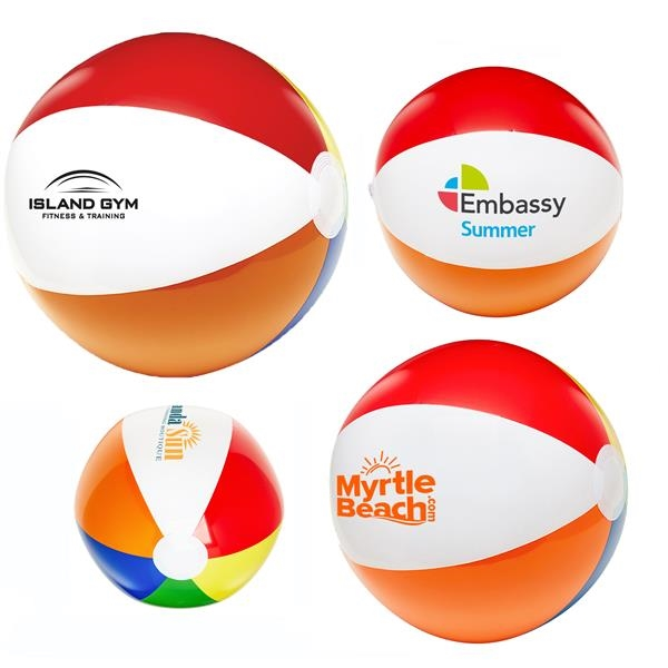two tone beach balls