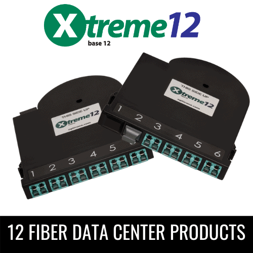 XTREME12 12 FIBER DATA CENTER PRODUCTS