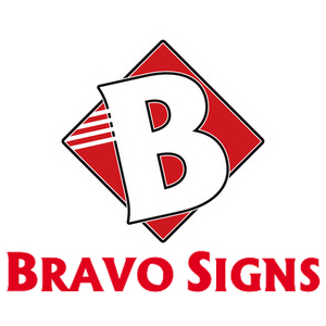 Bravo Signs logo