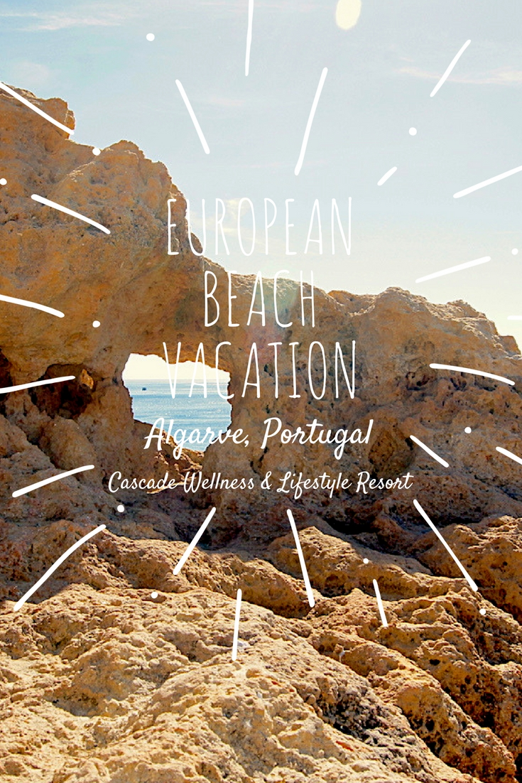 Looking for the perfect European beach getaway? Stay at our favorite - Cascade Spa and Lifestyle Resort, on one of the most beautiful beaches in Algarve, Portugal. Discover the surrounding beaches for some of the most beautiful beaches in Europe! #Algarve #Portugal #BeachVacation #CascadeResort #LagosPortugal #AlgarveBeaches #BestEuropeanBEaches