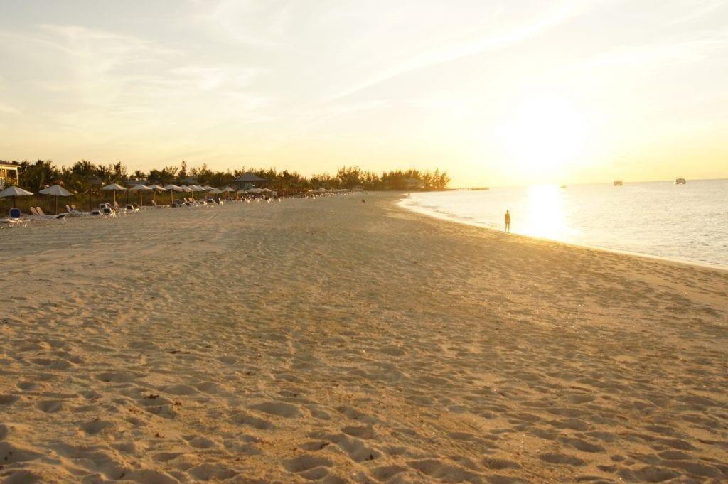 Club Med Columbus Isle Beach Sunset