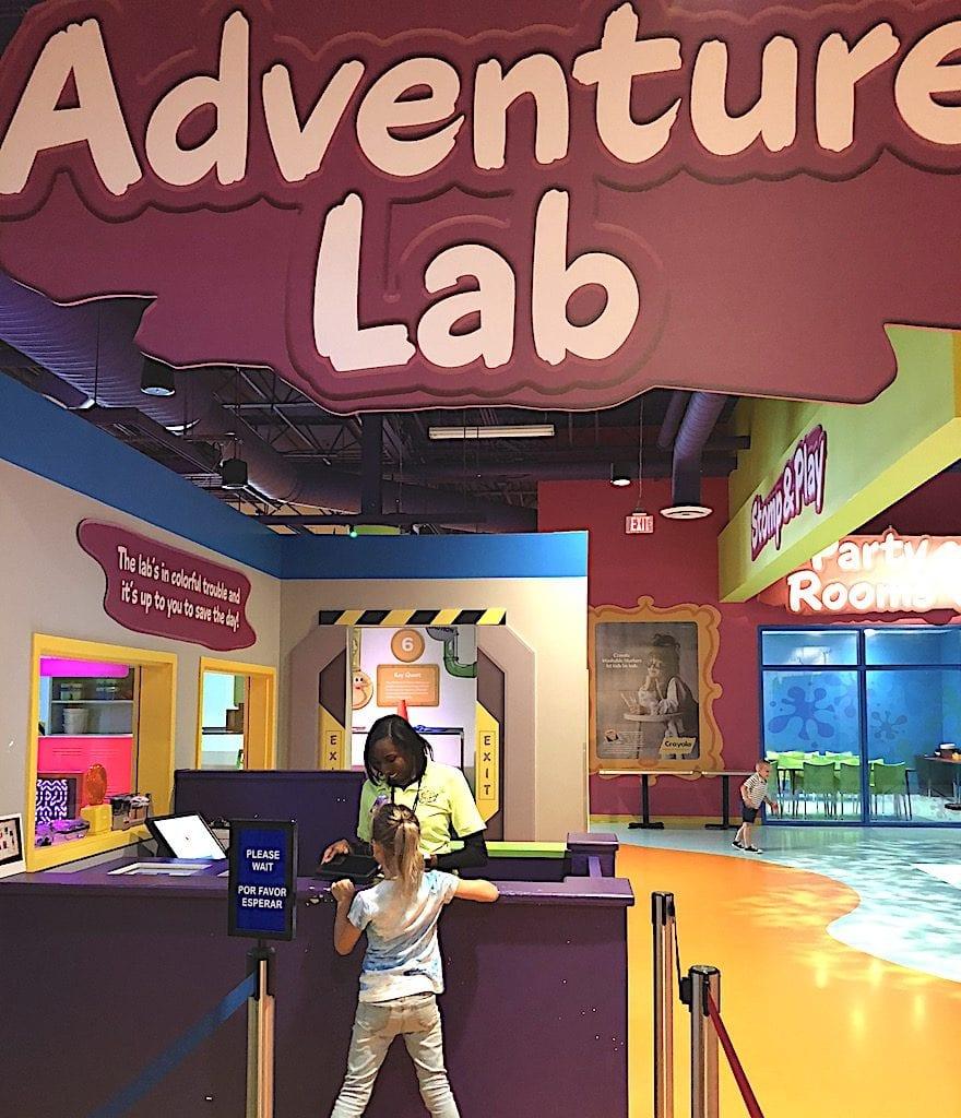 Adventure Lab Sign Up