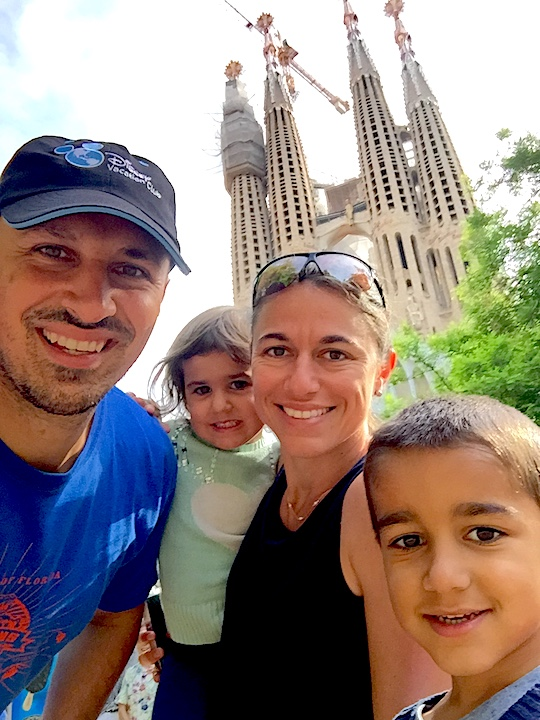 Barcelona Family Shot