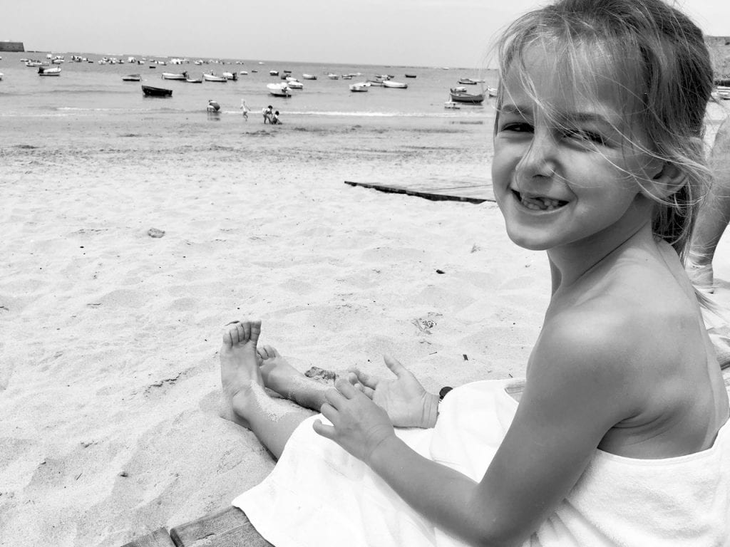 Kid at Cadiz BEach
