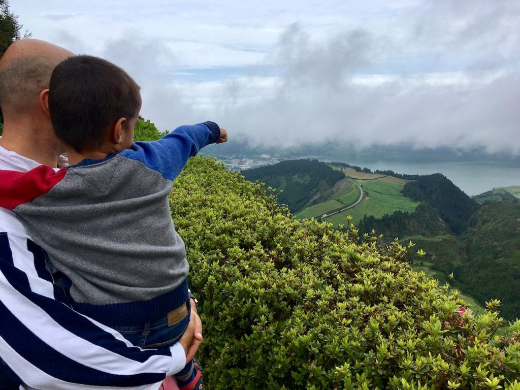 Mark in Geoparque, Azores