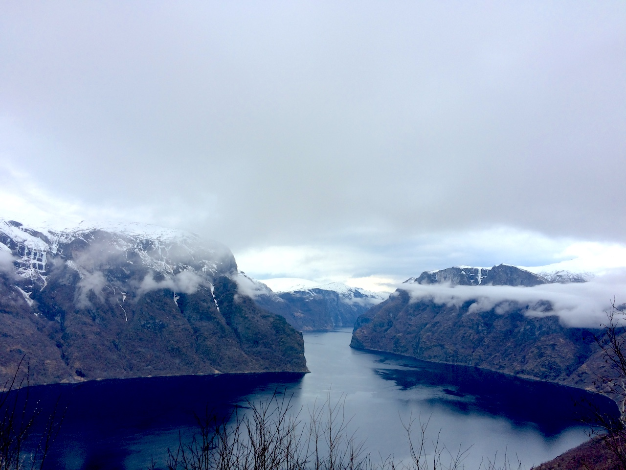 Fjord from Above