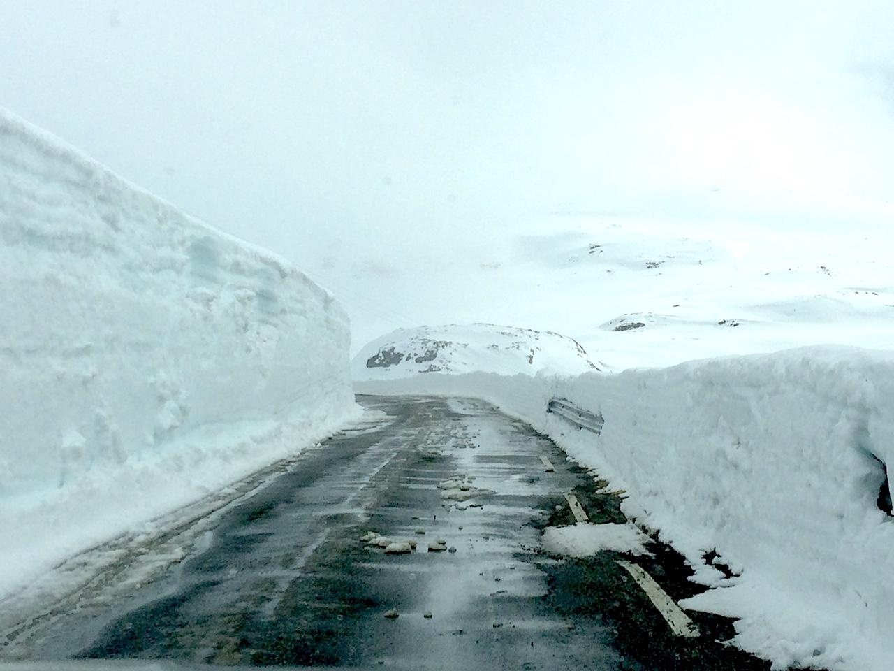 Snowed In Roads Norway