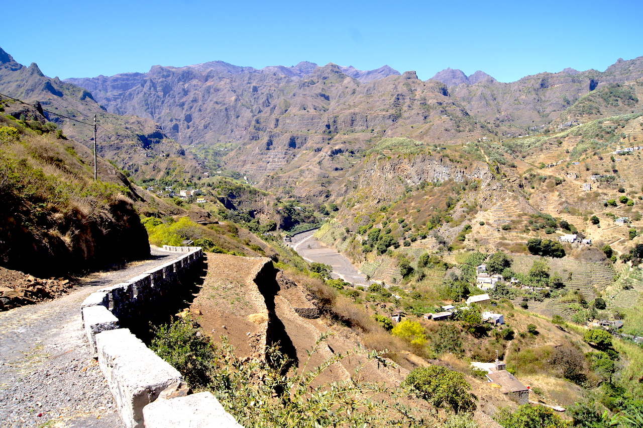 Visiting Cape Verde and trekking on Santo Antao with a guide #CapeVerde #Trekking #AdventureTravel
